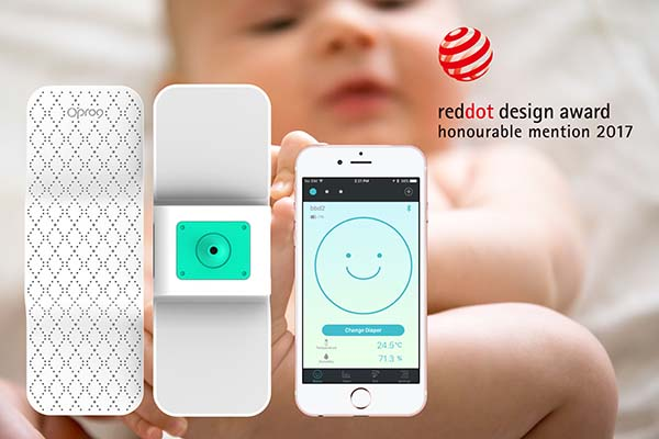 Smart Diaper Reddot Design Award